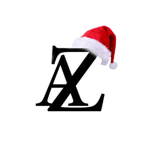 AZ Logo with Santa Clause Hat