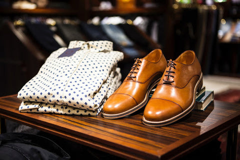 Formal Shoes and Formal Dress Button Up