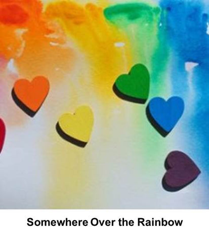 Somewhere over the rainbow lockdown