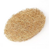 Coconut fibre natural reusable body scrub pad.