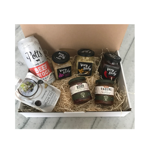 A fantastic start to creating your staple cupboard, this hamper has all you need to get going on a culinary adventure in the kitchen, sold by Percy Langley