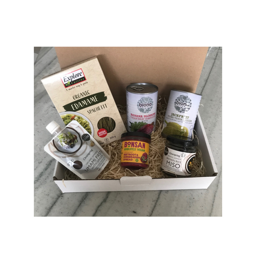 Vegan cooking has never been so exciting, with a medley of ingredients this hamper has everything you need to start of an exploration in delicious vegan cuisine, sold by Percy Langley