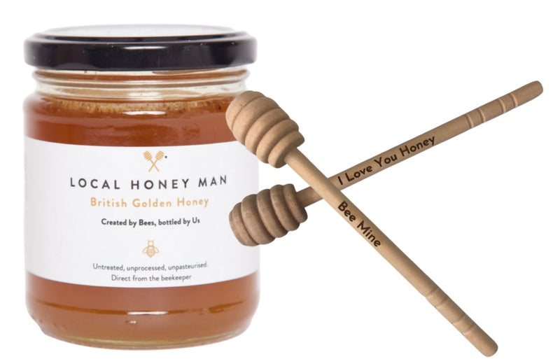 'I Love You Honey' Local Honey & Drizzle