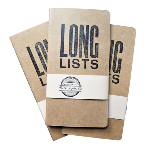 Notebook for  perfect to do list notebook! We all know that if you want to get things done, you need to make a to do list, here is where to start; the long lists notebook.  40 leaves of 80gsm lined paper.