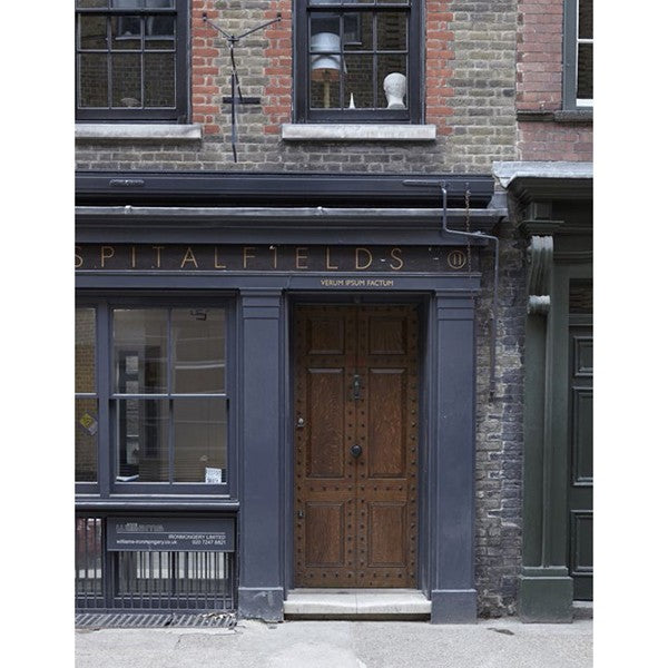Example of the classic Georgian facade found around Spitafields from East London Homes.