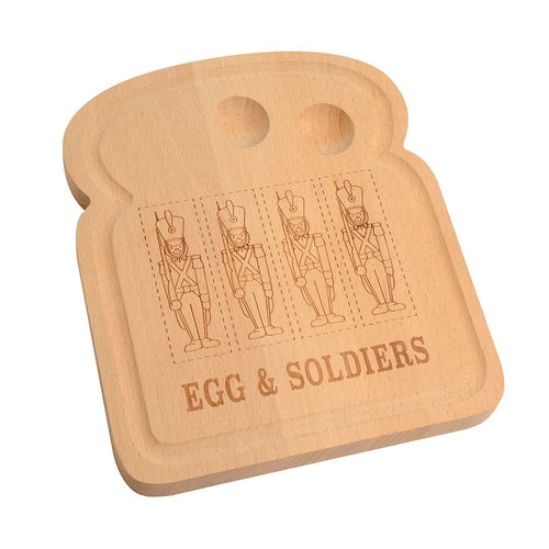 Egg serving board; a charming and unique present, sold by Percy Langley