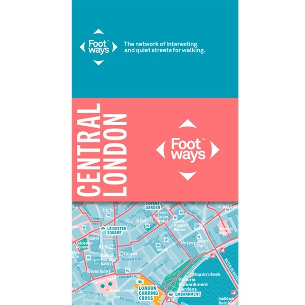 Incredible map of London documenting the most beautiful streets to walk along in the capital. Made by London Living Streets, the team spent 18 months researching this map for walkers looking to explore the city. Quieter, safer, less polluted streets, as well as the prettiest and most interesting streets to choose to walk along when exploring. The reverse features even more inspiring guides for walkers.