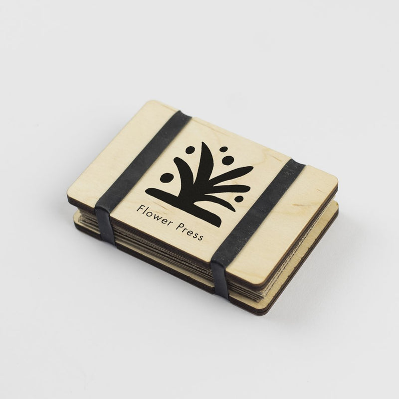 Pocket Flower Press, made by Studio Wald. A perfect gem you can store away in your pocket, ready for when you stumble upon wonderful flora out on your wanders, sold by Percy Langley