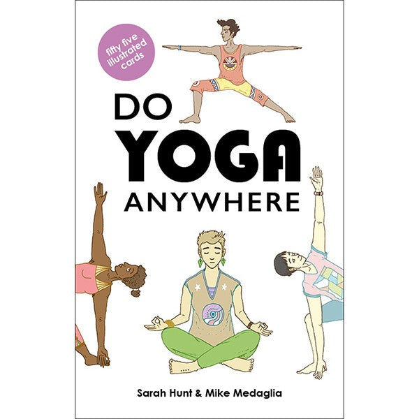 Do Yoga Anywhere is a wonderfully illustrated set of 55 cards, each featuring a different yoga posture, perfect for your own yoga sequences where ever you are! Featuring comprehensive explanations and introductions, this yoga deck is for experienced yogis and beginners alike.