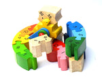 Fairtrade Wooden Teaching Clock Puzzle