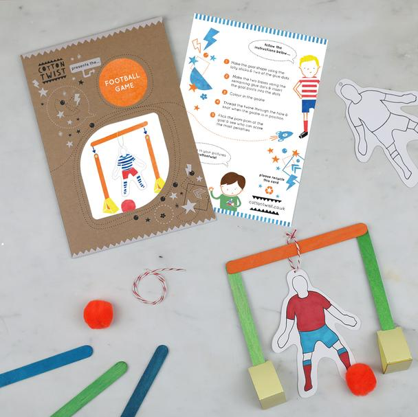 Make Your Own Football Game Kit