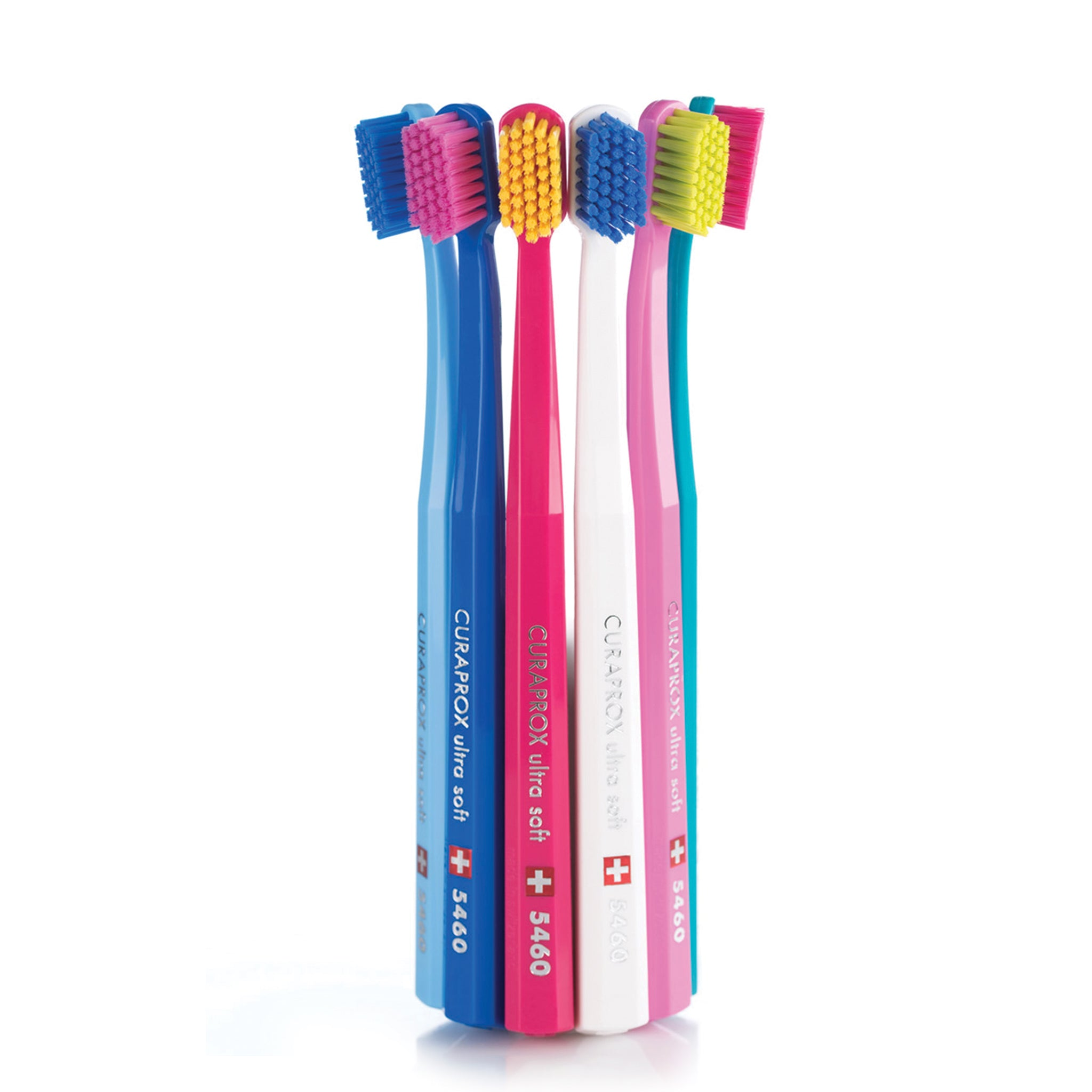 CURAPROX toothbrush's do not use nylon to make the bristles, instead they use very fine filaments made of CUREN®. CUREN® allows the bristles to be very fine ensuring there is no damage to the gums as well as feeling incredibly good when brushing.