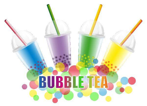 4 in 1 Bubble Tea, Fruit Smoothie, Frappe and Latte Mixes