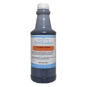 Cookie Butter Flavor 32 oz Bottle