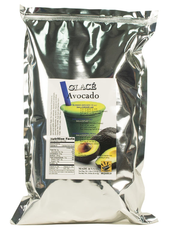 Avocado 4 in 1 Bubble Tea / Fruit Smoothie Mix