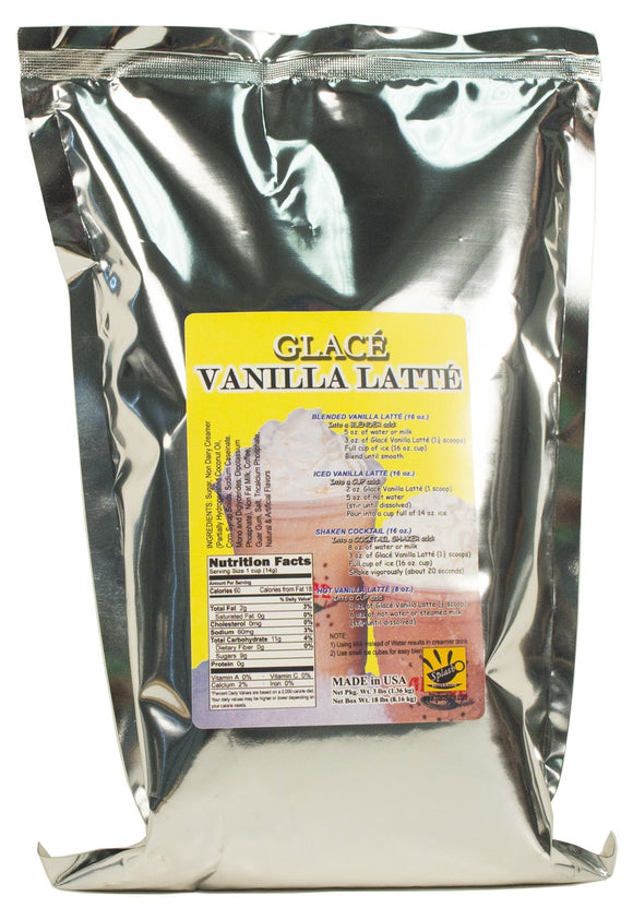 Vanilla Latte 4 in 1 Bubble Tea / Latte and Frappe Mix