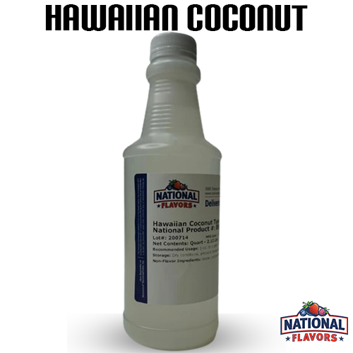 Hawaiian Coconut Flavor 32 oz Bottle