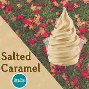 Frostline Salted Caramel Soft Serve Mix