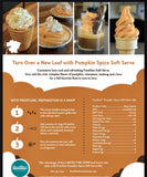 Frostline Pumpkin Spice Soft Serve Mix