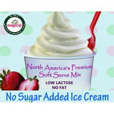 No Sugar Added Soft Serve Ice Cream Mix 1.1kg Bag