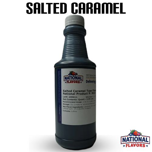 Salted Caramel Flavor 32 oz Bottle