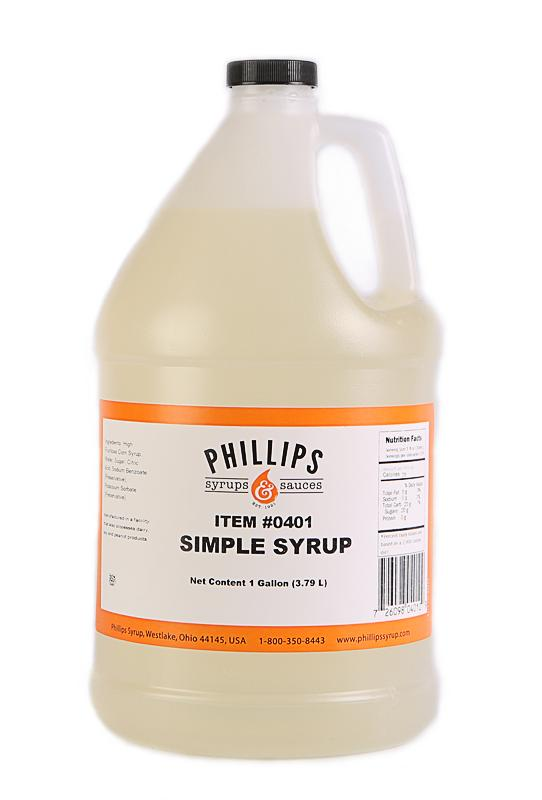 Simple Syrup, 4 L (1 Gallon)