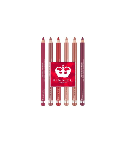 Lip Liner Pencil Rimmel Lasting Finish