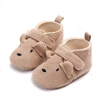 Adorable Infant Slippers Kleinkind Baby Boy Girl Strick Krippe Schuhe Cute Cartoon Anti-Rutsch Prewalker Baby Slippers