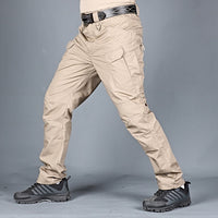Mens Camouflage Cargo Pants Elastic Multiple Pocket  Military Male Trousers Outdoor Joggers Pant Plus Size Tactical Pants Men
