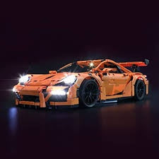 Lego Technic: Porsche 911 GT3 RS 42056 (Used with Light Kit - No Box)