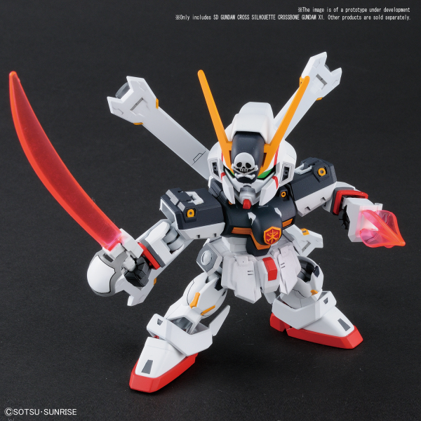 SD Cross Silhouette Crossbone Gundam