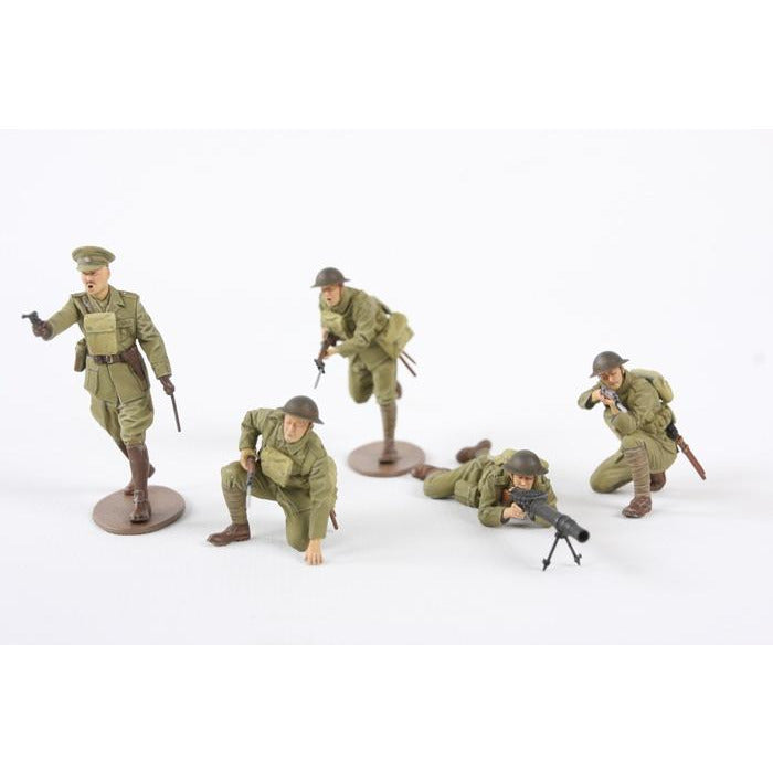 1/35Plastic Armour Kit British Infantry WWI