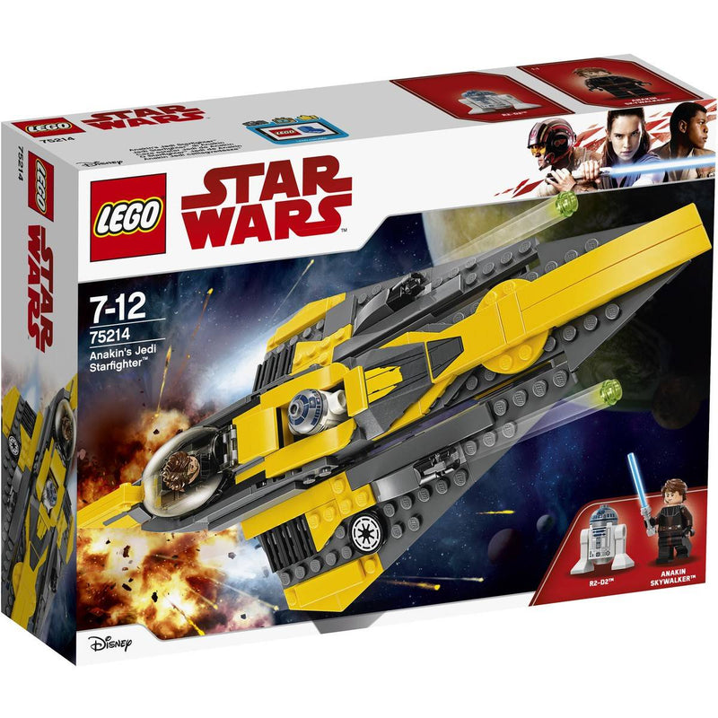 Lego Star Wars: Anakin's Jedi Starfighter 75214