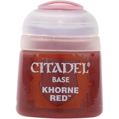 Base: Khorne Red (12ml)