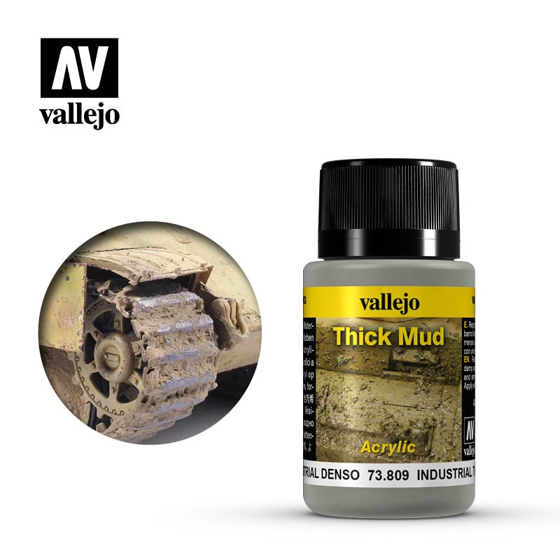 VAL73809 Weathering Effects - Industrial Thick Mud (40ml)