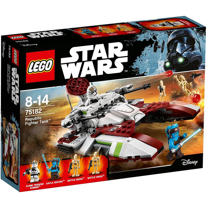 Lego Star Wars: Republic Fighter Tank 75182