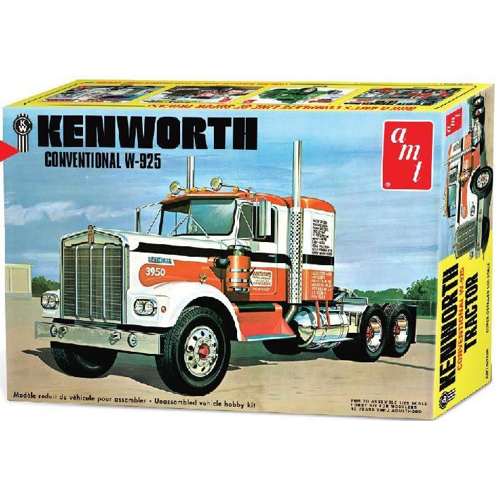 Kenworth W925 Conventional 1/25 by AMT