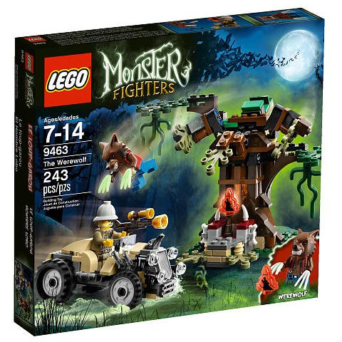 Lego Monster Fighters: The Werewolf 9463