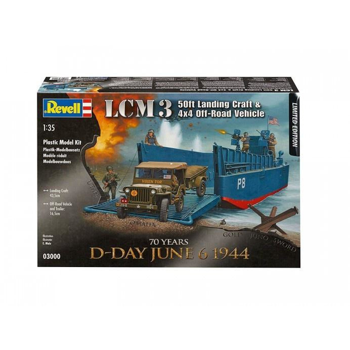 1/35 D-Day Set LCM3 and 4X4