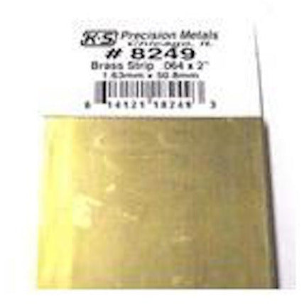 ".064 x 2"" Brass Strip"