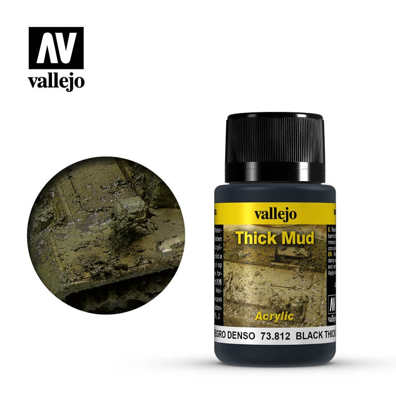 VAL73812 Weathering Effects - Black Thick Mud (40ml)