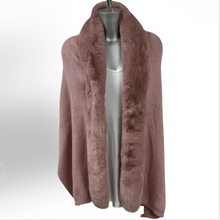 Load image into Gallery viewer, Gia Faux Fur Shawl