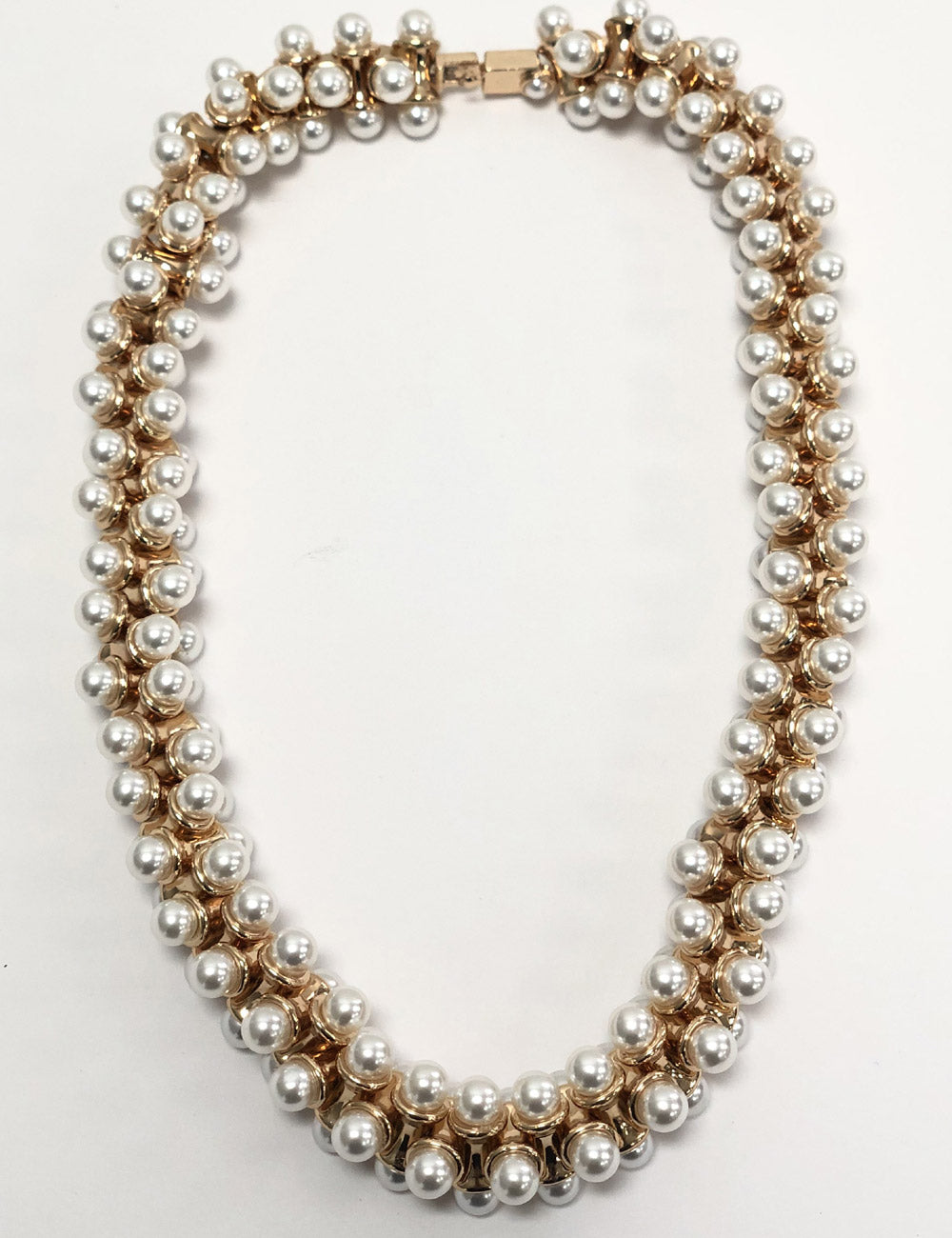 Gina Golden Pearl Showstopper Necklace
