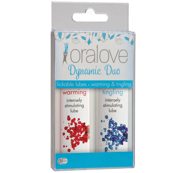 Oralove Dynamic Duo Lube - Warming & Tingling - OkGiv