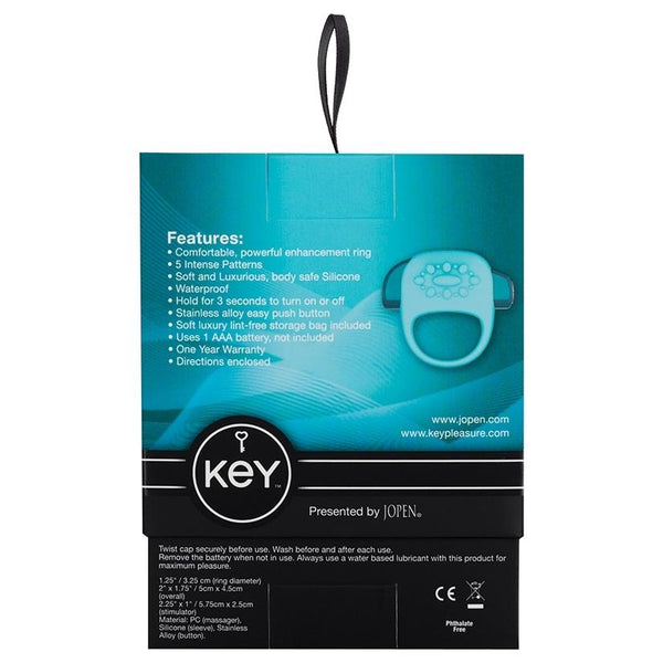 Key by Jopen Halo Vibrating Ring - OkGiv