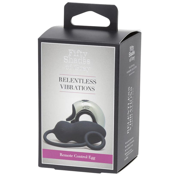 Fifty Shades of Grey Relentless Vibrations Remote Control Egg - OkGiv