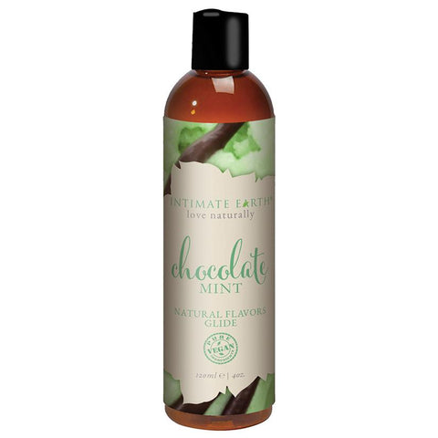 Intimate Earth Oral Pleasure Glide - Chocolate Mint 4oz - OkGiv