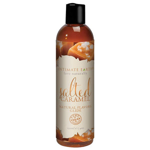 Intimate Earth Oral Pleasure Glide - Salted Caramel 4oz - OkGiv
