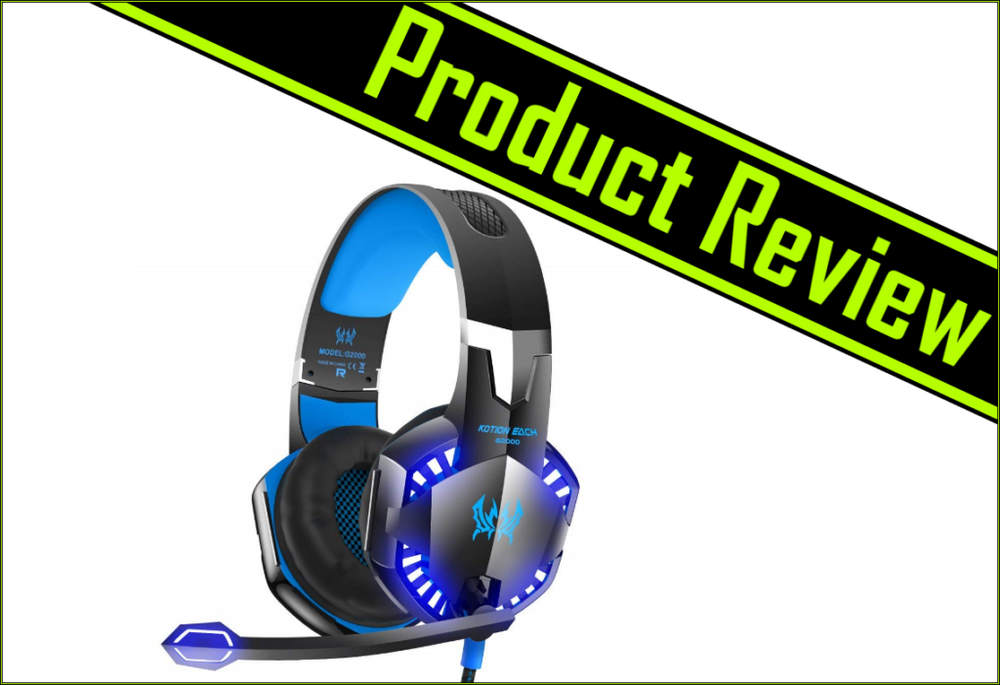 VersionTech G2000 Stereo Gaming Headset Review