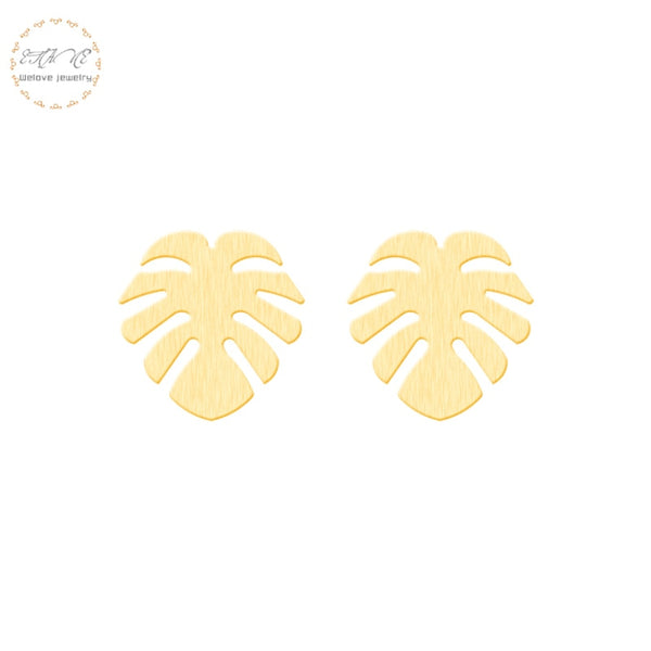 Minimalistic Leaf Earrings